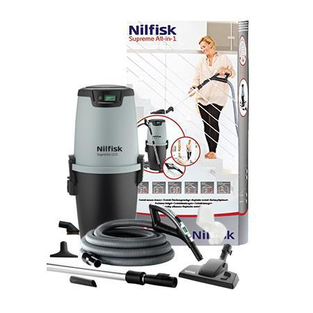 Централна вакуумна система NILFISK SUPREME ALL-IN-1 LCD Deluxe Hose